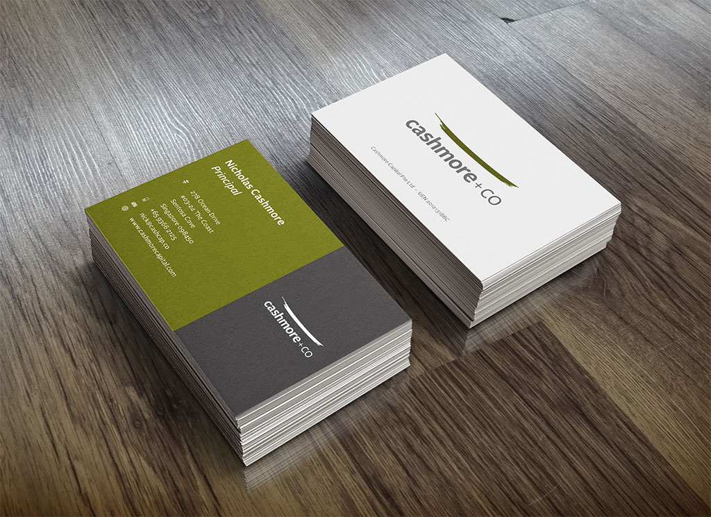 Cashmore+Co - Business Card