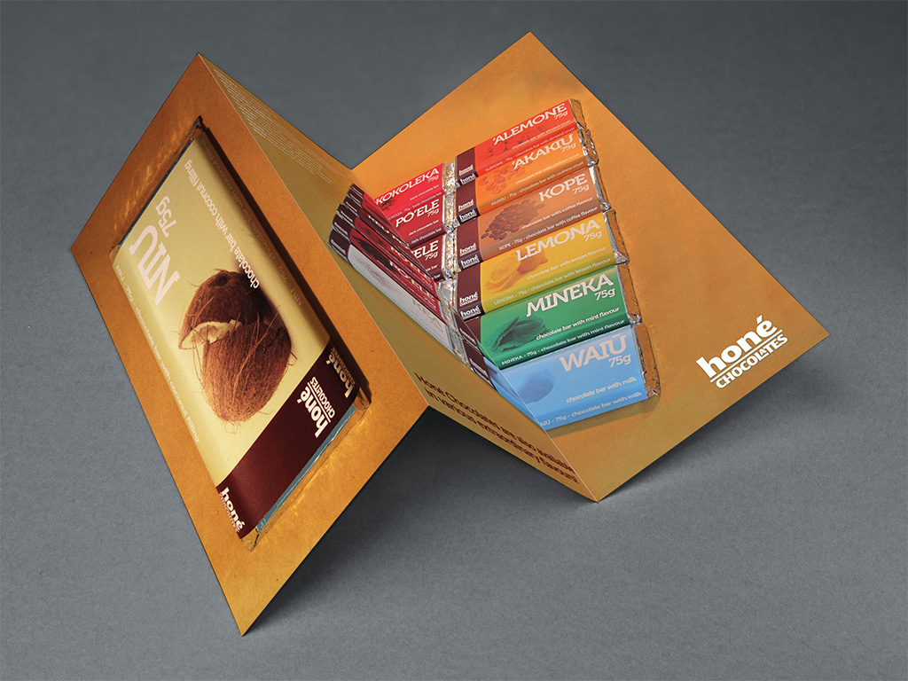 Honé Chocolates - Brochure