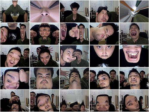 idiotic photo booth shots
