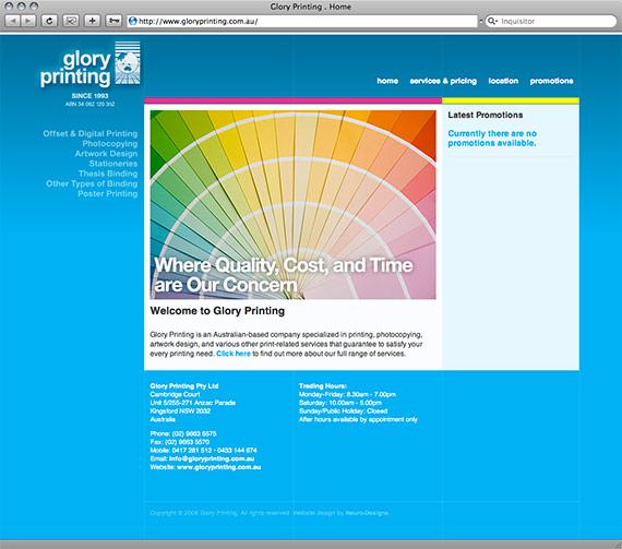 Glory Printing