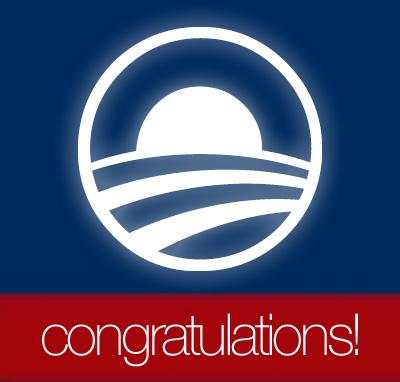 Congratulations, Obama