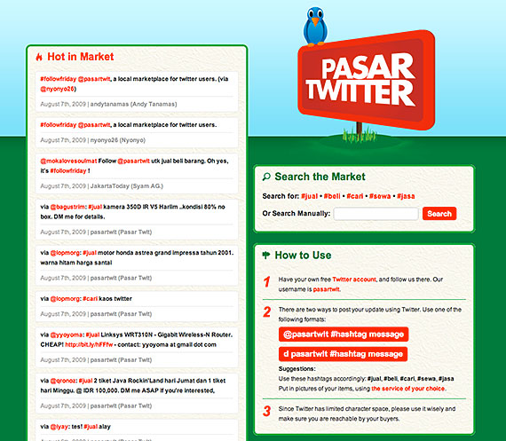Pasar Twitter