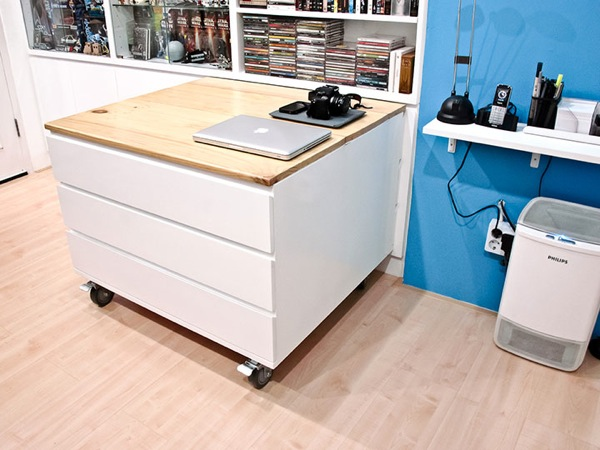 Movable Utility Table