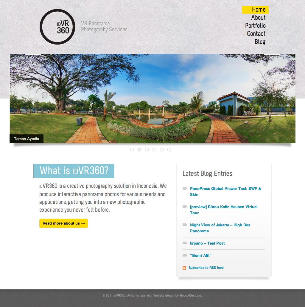idVR360 Website