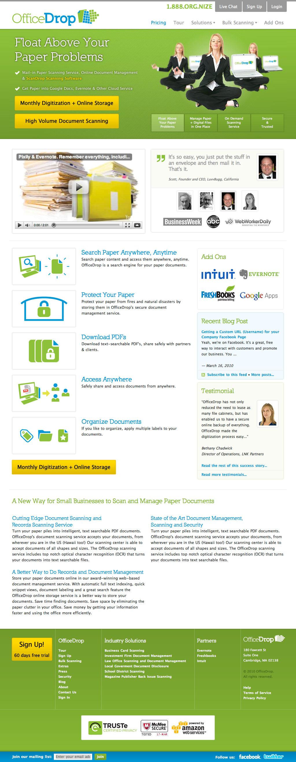 OfficeDrop Website