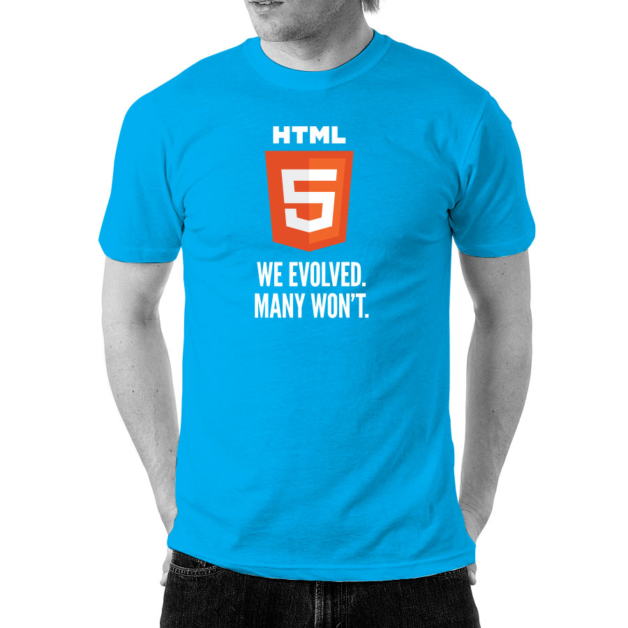 HTML5 (Blue) - Front
