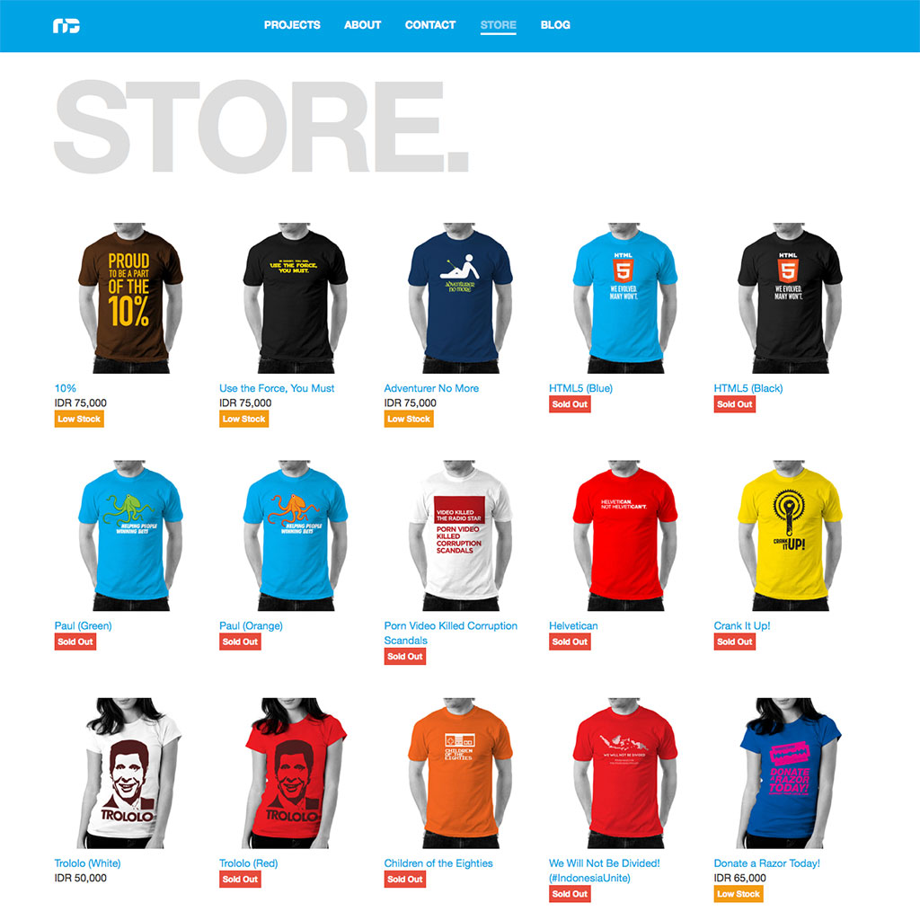 Redesigned Store