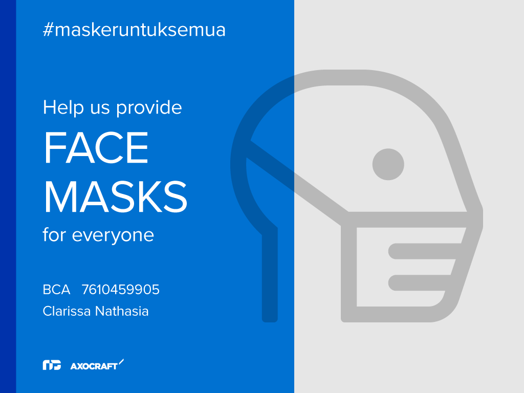 Help us provide face masks for everyone